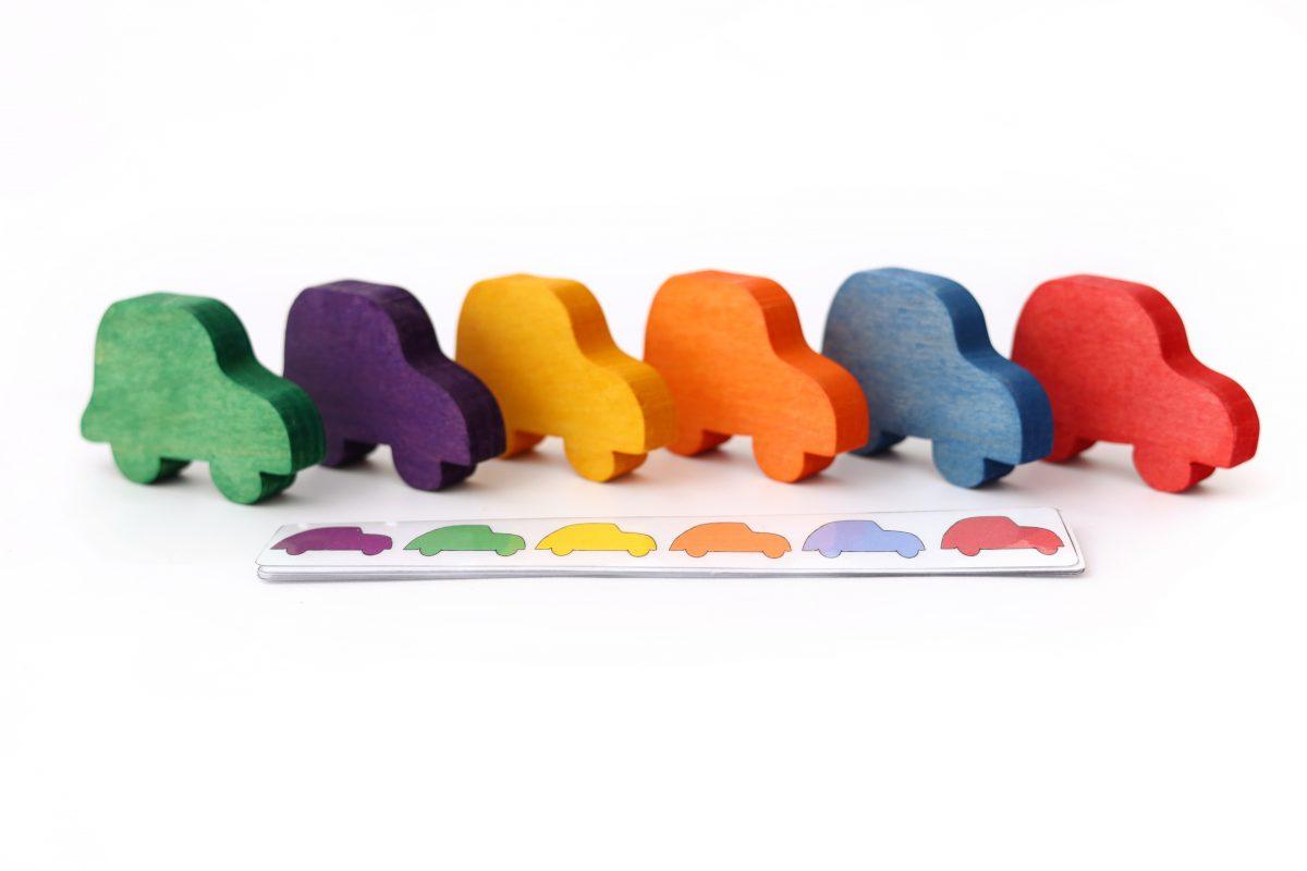 kolorowe autka
